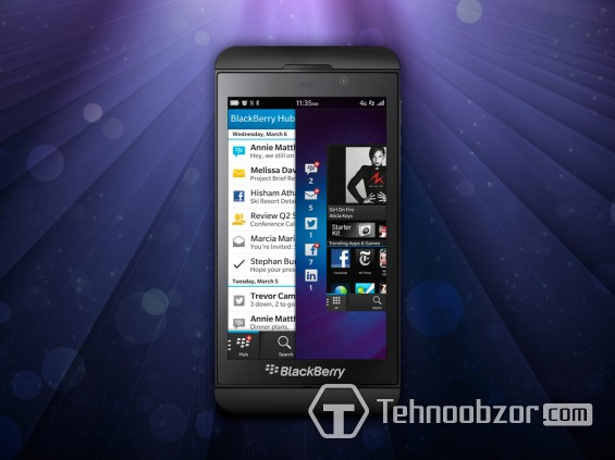 Телефон BlackBerry Z10