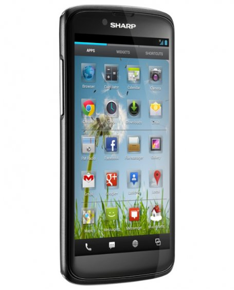 Программное обеспечение Sharp SH631W - Android4