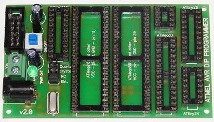 Адаптер для программирования мк avr в dip корпусах своими руками