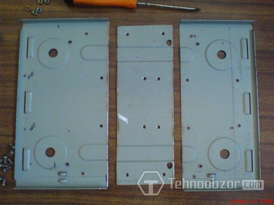 Резка заготовки из металла для корпуса