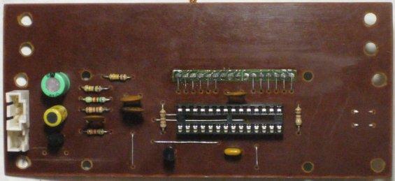 Вольтметр, амперметр и измеритель ёмкости аккумуляторов - плата печатная