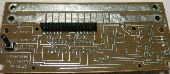 Вольтметр, амперметр и измеритель ёмкости аккумуляторов - подключение