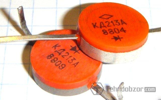 отечественные КД213А диоды