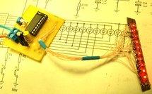 Светодиодный вольтметр на микроконтроллере