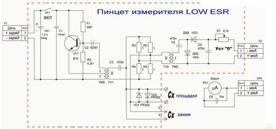 как измерять конденсаторы со сверхнизким уровнем ESR