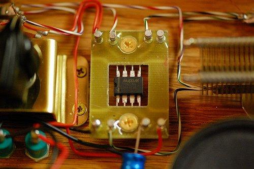 Радиоприёмник на микросхеме