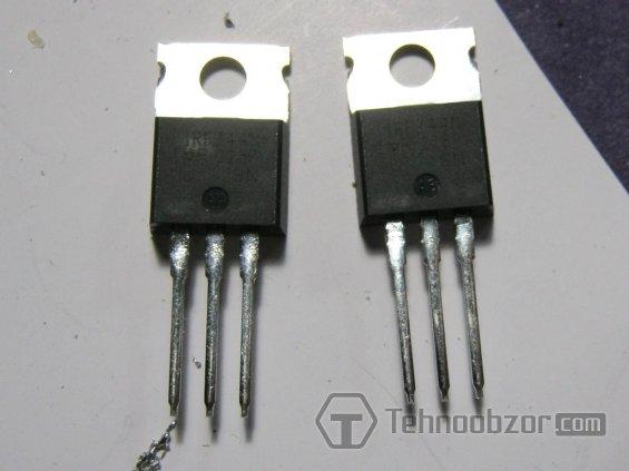 Транзисторы 44N полевые