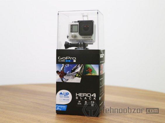 Цена новой камеры GoPro HERO4