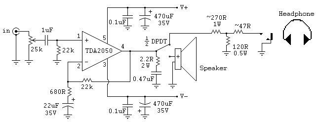 Схема усилителя звука 30 ватт