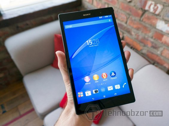 Дисплей и камеры Sony Xperia Z3 Tablet Compact