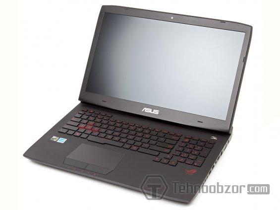 Дисплей мощного ноутбука ROG G751JY