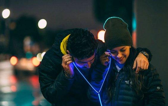 Lighted Earphone - светящиеся наушники