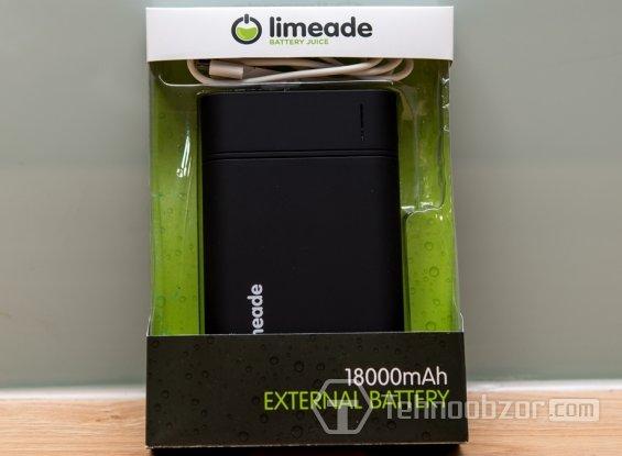 Зарядное Limeade Blast 15600mAh в коробке