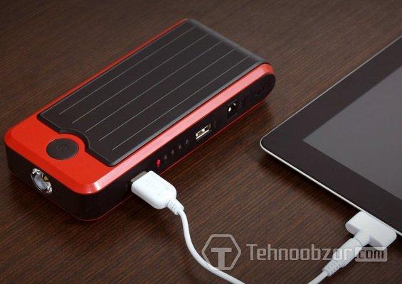 USB-кабель и портативное зарядное устройство