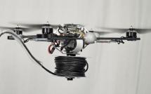 Квадрокоптеры строят мост из веревок в ETH Zurich