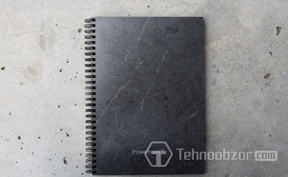 Дизайн блокнота PowerBook