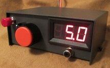 Приставка - регулятор напряжения с вольтметром