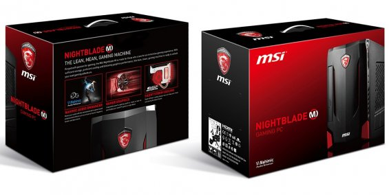 Коробка MSI Nightblade MI2