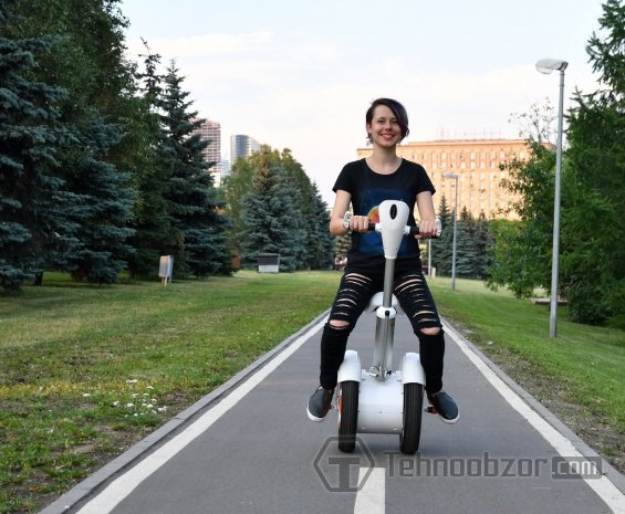 Езда на сегвее Airwheel A3
