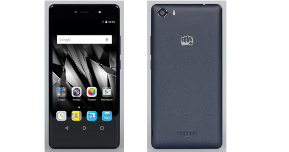 Дизайн Micromax Canvas 5 E481