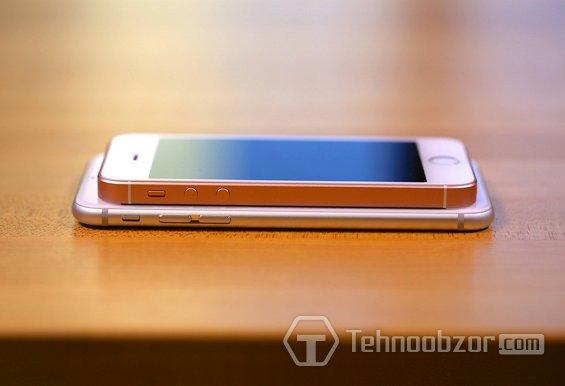 Размер iPhone SE