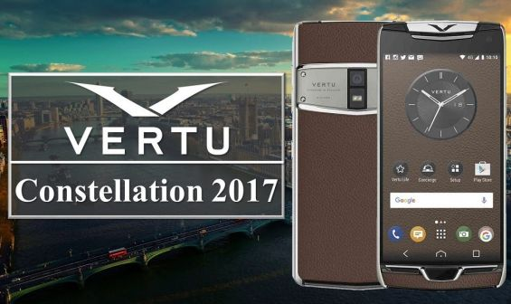 Презентация Vertu Constellation 2017