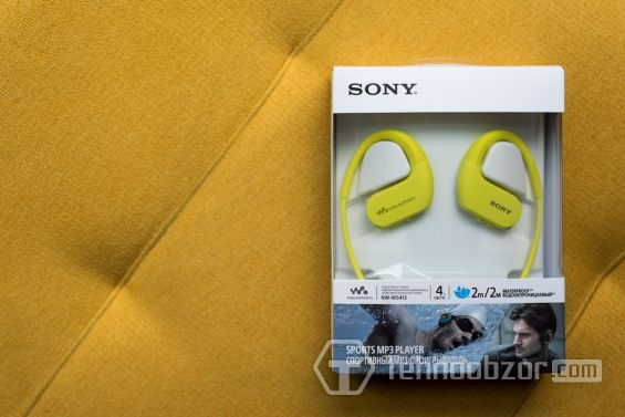 Sony Walkman NW-WS413 в коробке