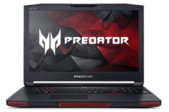 Внешнее исполнение Predator 17 X