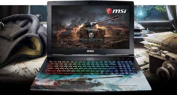 MSI GP62M версии World of Tanks Edition