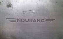 Логотип Endurance на стали