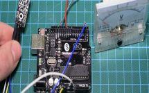 Как выглядит готовый термометр с модулем DS18B20 на основе платы Arduino