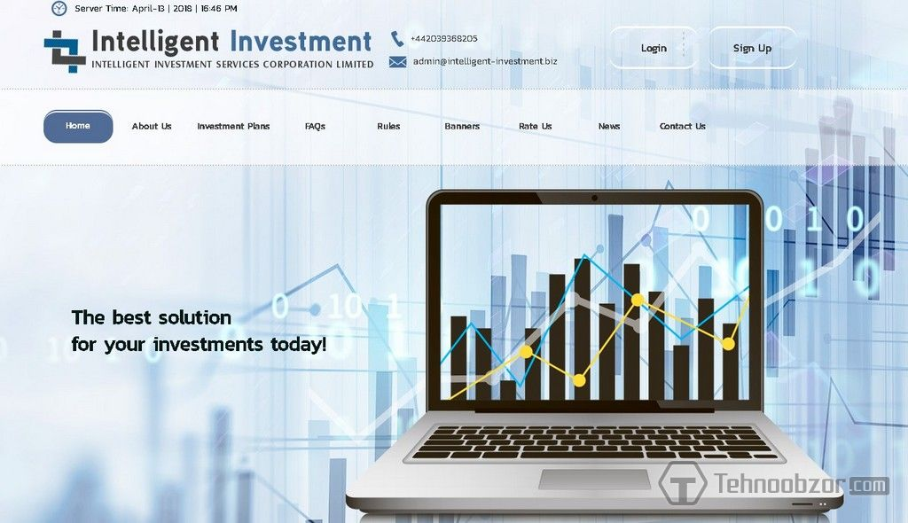 Hyip investment plan examples