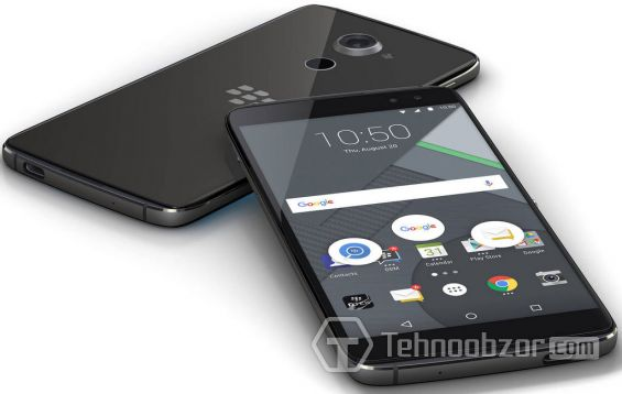 Дизайн BlackBerry DTEK60