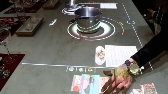 Готовка на Whirlpool Interactive Cooktop