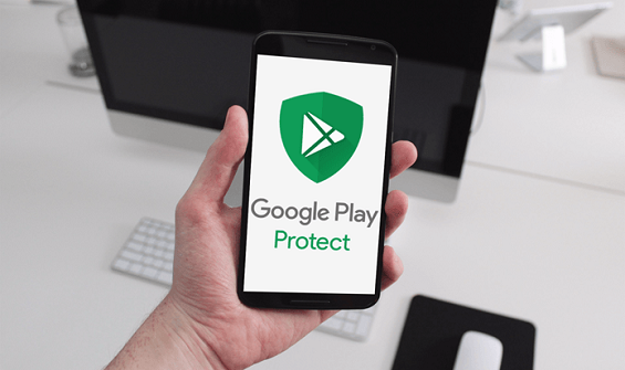 Google Play Protect на смартфоне