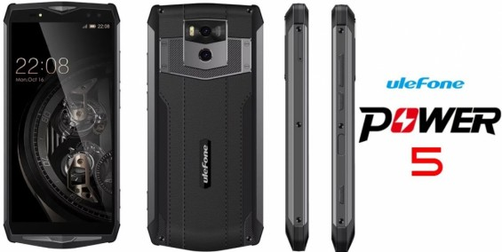 Дизайн Ulefone Power 5
